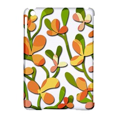 Decorative floral tree Apple iPad Mini Hardshell Case (Compatible with Smart Cover)