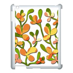 Decorative floral tree Apple iPad 3/4 Case (White)