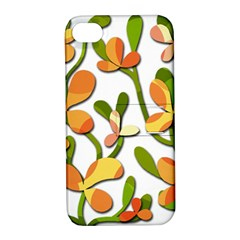 Decorative floral tree Apple iPhone 4/4S Hardshell Case with Stand