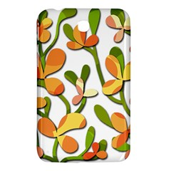 Decorative floral tree Samsung Galaxy Tab 3 (7 ) P3200 Hardshell Case