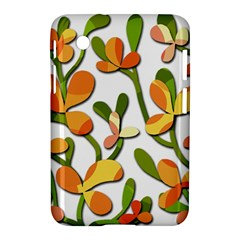 Decorative floral tree Samsung Galaxy Tab 2 (7 ) P3100 Hardshell Case