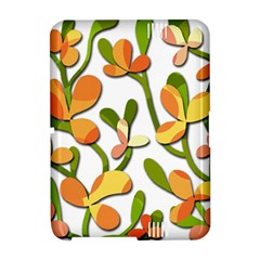 Decorative floral tree Amazon Kindle Fire (2012) Hardshell Case