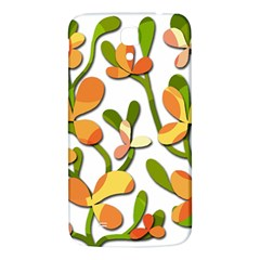 Decorative floral tree Samsung Galaxy Mega I9200 Hardshell Back Case