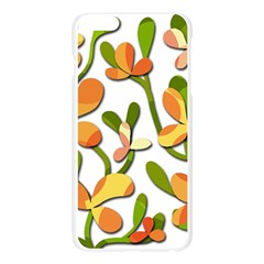 Decorative floral tree Apple Seamless iPhone 6 Plus/6S Plus Case (Transparent)
