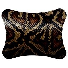 Snake Skin Olay Jigsaw Puzzle Photo Stand (Bow)