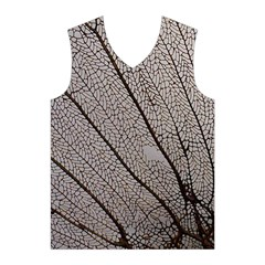 Sea Fan Coral Intricate Patterns Men s Basketball Tank Top