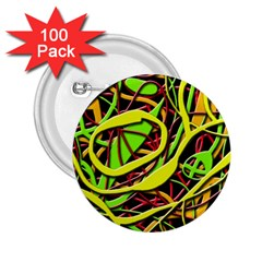 Snake bush 2.25  Buttons (100 pack)