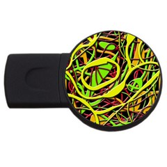 Snake bush USB Flash Drive Round (2 GB)