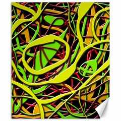 Snake bush Canvas 8  x 10