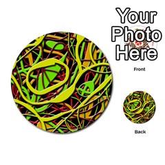 Snake bush Multi-purpose Cards (Round)