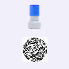 Snake bush Rubber Round Stamps (Small)