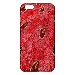 Red Peacock Floral Embroidered Long Qipao Traditional Chinese Cheongsam Mandarin iPhone 6 Plus/6S Plus TPU Case