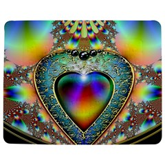 Rainbow Fractal Jigsaw Puzzle Photo Stand (Rectangular)