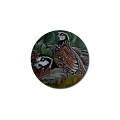 Bobwhite Quails Golf Ball Marker (4 Pack)