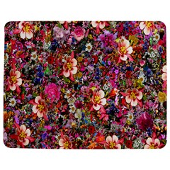 Psychedelic Flower Jigsaw Puzzle Photo Stand (Rectangular)