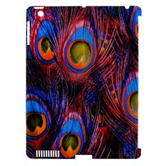 Pretty Peacock Feather Apple iPad 3/4 Hardshell Case (Compatible with Smart Cover)