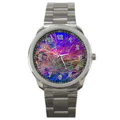 Poetic Cosmos Of The Breath Sport Metal Watch