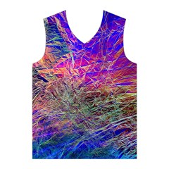 Poetic Cosmos Of The Breath Men s Basketball Tank Top