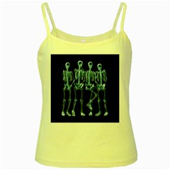 Adventure Time Cover Yellow Spaghetti Tank