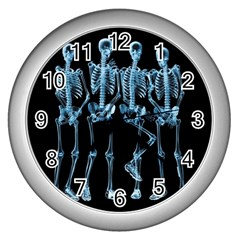 Adventure Time Cover Wall Clocks (silver)
