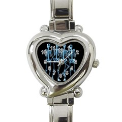 Adventure Time Cover Heart Italian Charm Watch