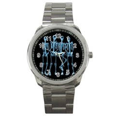 Adventure Time Cover Sport Metal Watch