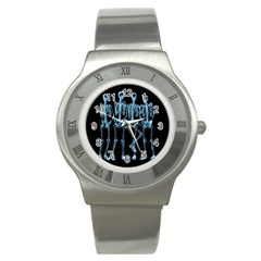 Adventure Time Cover Stainless Steel Watch