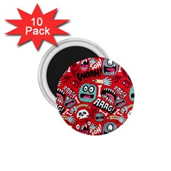 Agghh Pattern 1.75  Magnets (10 pack)