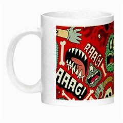Agghh Pattern Night Luminous Mugs