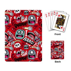 Agghh Pattern Playing Card