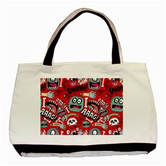 Agghh Pattern Basic Tote Bag
