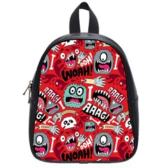 Agghh Pattern School Bags (Small)