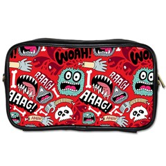 Agghh Pattern Toiletries Bags 2-Side