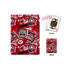 Agghh Pattern Playing Cards (Mini)