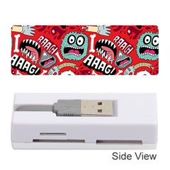 Agghh Pattern Memory Card Reader (Stick)