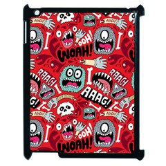 Agghh Pattern Apple iPad 2 Case (Black)
