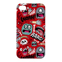 Agghh Pattern Apple iPhone 4/4S Premium Hardshell Case