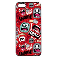 Agghh Pattern Apple iPhone 5 Seamless Case (Black)