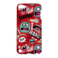 Agghh Pattern Apple Ipod Touch 5 Hardshell Case