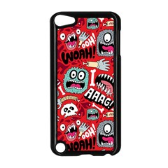 Agghh Pattern Apple iPod Touch 5 Case (Black)