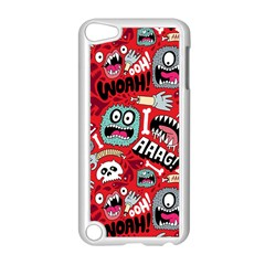 Agghh Pattern Apple iPod Touch 5 Case (White)