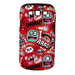 Agghh Pattern Samsung Galaxy S III Classic Hardshell Case (PC+Silicone)