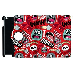 Agghh Pattern Apple iPad 3/4 Flip 360 Case