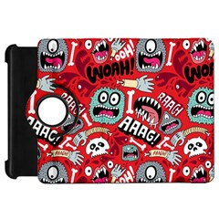 Agghh Pattern Kindle Fire HD Flip 360 Case