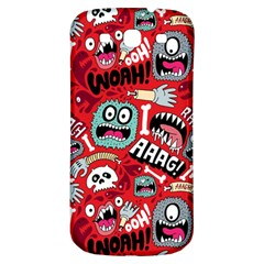 Agghh Pattern Samsung Galaxy S3 S III Classic Hardshell Back Case