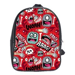 Agghh Pattern School Bags (XL)