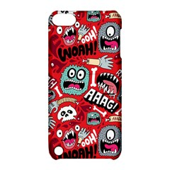 Agghh Pattern Apple iPod Touch 5 Hardshell Case with Stand