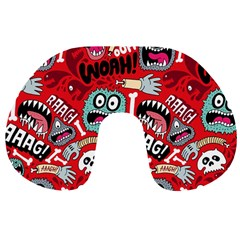Agghh Pattern Travel Neck Pillows