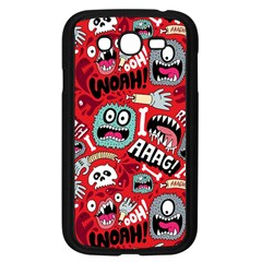 Agghh Pattern Samsung Galaxy Grand DUOS I9082 Case (Black)
