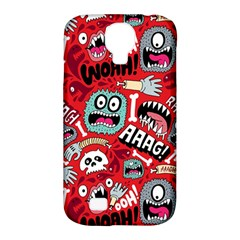 Agghh Pattern Samsung Galaxy S4 Classic Hardshell Case (PC+Silicone)